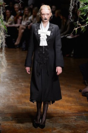lily donaldson GILES FALL 2015 LFW fashiondailymag sel 2