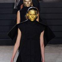 RICK OWENS fall 2015 masked highlights PFW