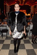 amira casar DIOR after party PFW fashiondailymag