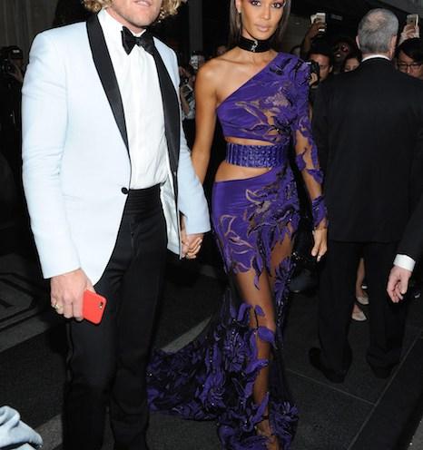 peter dundas joan smalls roberto cavalli Met Gala 2015 Fashiondailymag sel 15