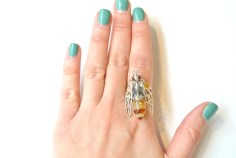 E SHAW jewelry FashionDailyMag sel 1 bee ring