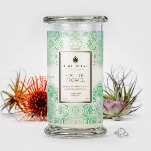 JEWELSCENT candles FashionDailyMag cactus flower