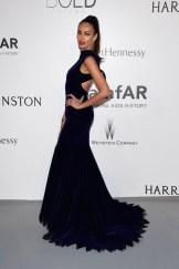 Model Madalina Ghenea attends amfAR's 22nd Cinema Against AIDS Gala fashiondailymag