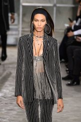 joan smalls GIVENCHY ss16 menswear PFW FashionDailyMag 25