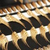 the blonds gold nyfw ss16 audrey froggatt fashiondailymag