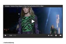 versace ss16 mfw video fashiondailymag