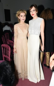 Kiernan Shipka and dakota johnson