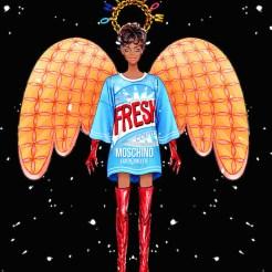 angels MOSCHINO lyst x sunny gu FashionDailyMag