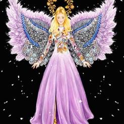 angels matthiew williamson lyst x sunny gu FashionDailyMag