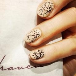 nail art at haven spa hostess gift guide 2015 FashionDailyMag 1