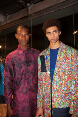 Casely Hayford AW16, backstage (Eeva Rinne, British Fashion Council) 2