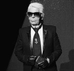 karl lagerfeld at dior homme FashionDailyMag 1