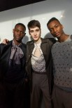 E Tautz AW16, backstage (Eeva Rinne, British Fashion Council)