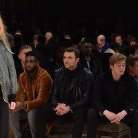 FRONT ROW at mens fw16 shows
