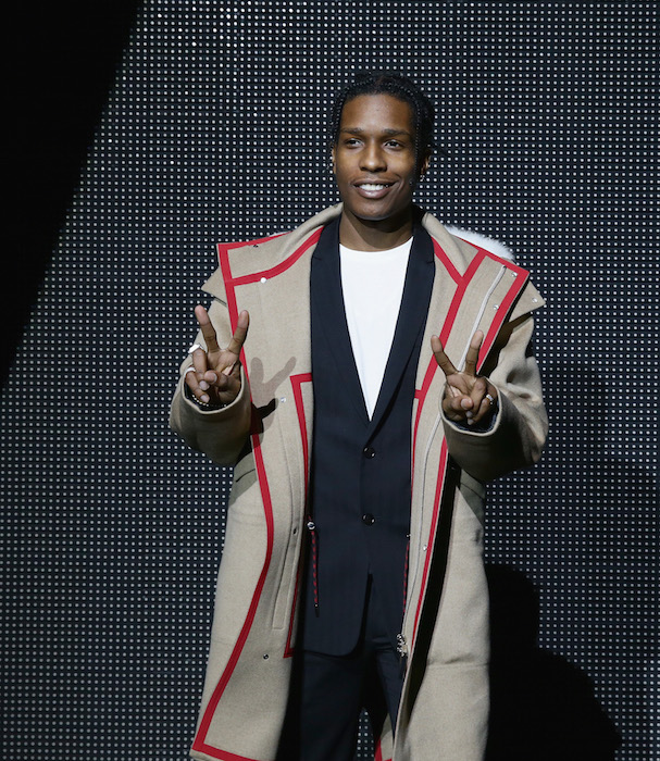 Asap Rocky attend the Dior Menswear