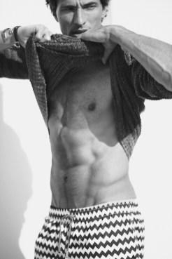 Andres Segura by Hunter Gatti for Massimo Dutti ss16 FashionDailyMag 12 bw
