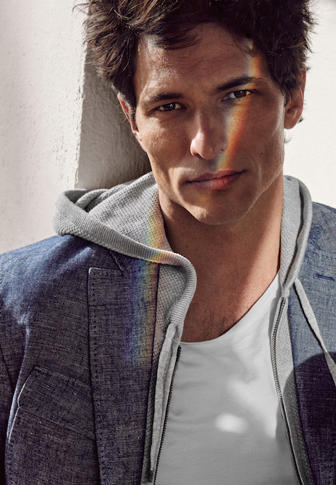 Andres Segura by Hunter Gatti for Massimo Dutti ss16 FashionDailyMag 7 rainbow