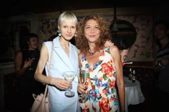 brigitte segura and Nora Vai ICB CELEBRATES THE LAUNCH OF: MIDNIGHT WINTER DREAM CAMPAIGN & FALL 2016 COLLECTION