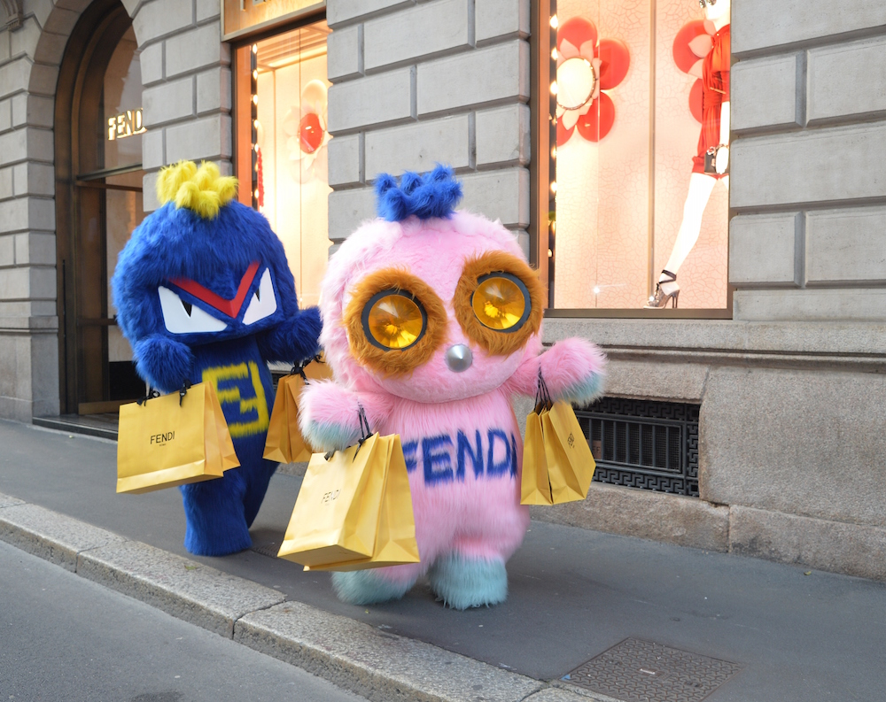 FENDIRUMI shopping Fendi milan FashionDailyMag 1