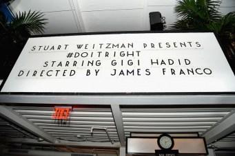 Stuart Weitzman Celebrates Launch Of The Gigi Boot
