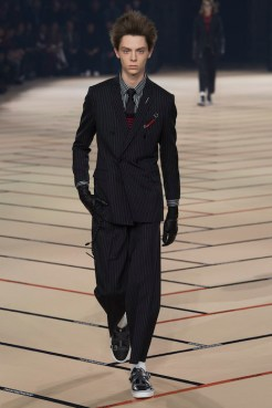 DIOR HOMME WINTER 1718_look002
