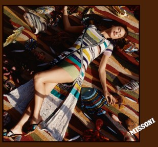 Irina Shayk MISSONI CAMPAIGN SS17 HARLEY WEIR fashiondailymag 5