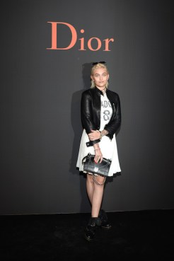 paris jackson at dior homme