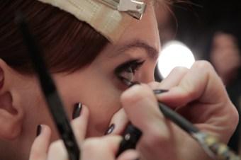 MIMI PROBER FW17 BTS BEAUTY backstage randy brooke fashiondailymag_0400