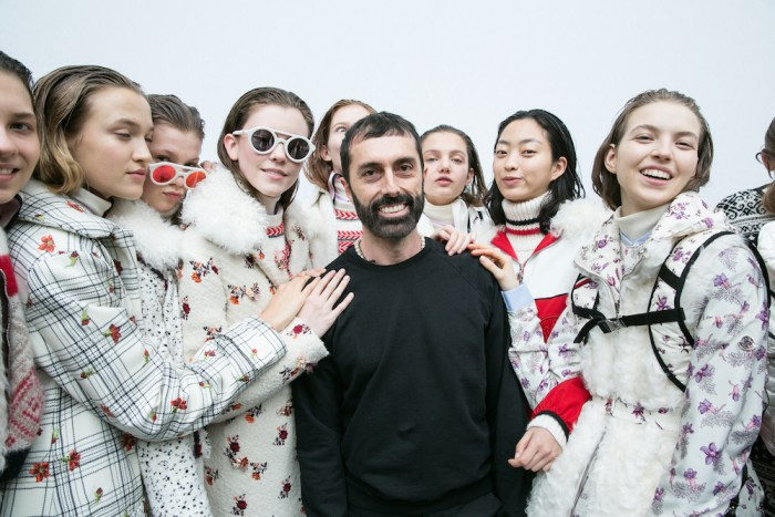 MONCLER GAMME ROUGE FW17 PFW FASHIONDAILYMAG 2