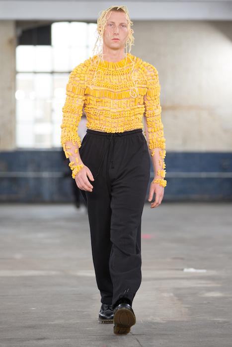 London Fashion Week Mens - MAN SS18