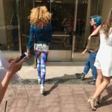 WALKING IN TO NEW YORK MENS DAY NYFWM BRIGITTE SEGURA Fashiondailymag _5703