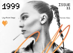 COVER-Lily-Rose Depp by Steven Klein CR Fashion Book 11 fdmloves feature