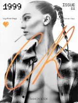COVER-Lily-Rose Depp by Steven Klein CR Fashion Book 11