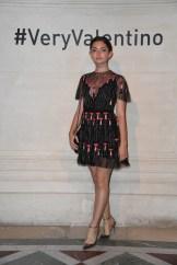 Emily Robinson VALENTINO SS18 PFW FASHIONDAILYMAG