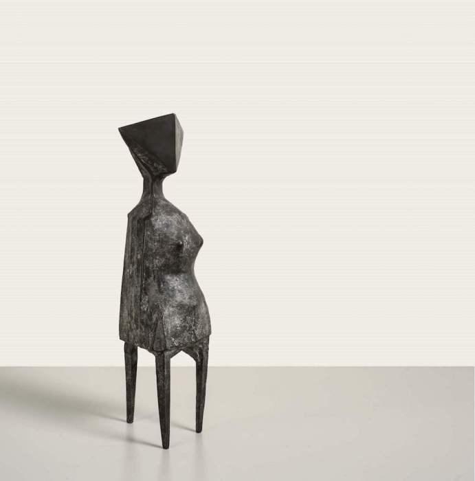Lynn Chadwick, Little Girl, 1970, bronze, £20,000-30,000
