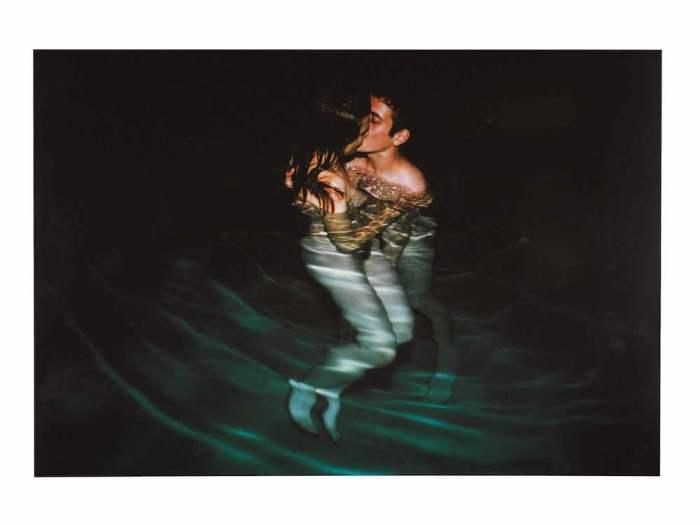 Nan Goldin, Simon & Jessica in Yvon's Pool at Night, Avignon, 2001 cibachrome print, £6,000-8,000