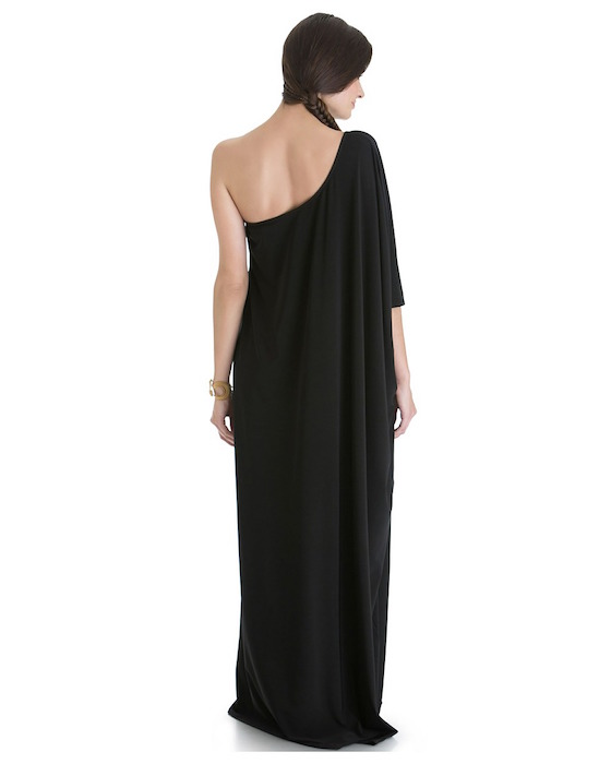 BlackOffShoulder dress 2 holiday 2017 fashiondailymag