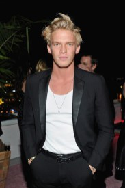 LOS ANGELES, CA - JANUARY 04: Cody Simpson attends W Magazine's Celebration of its 'Best Performances' Portfolio and the Golden Globes with Audi, Dior, and Dom Perignon at Chateau Marmont on January 4, 2018 in Los Angeles, California. (Photo by Donato Sardella/Getty Images for W Magazine)