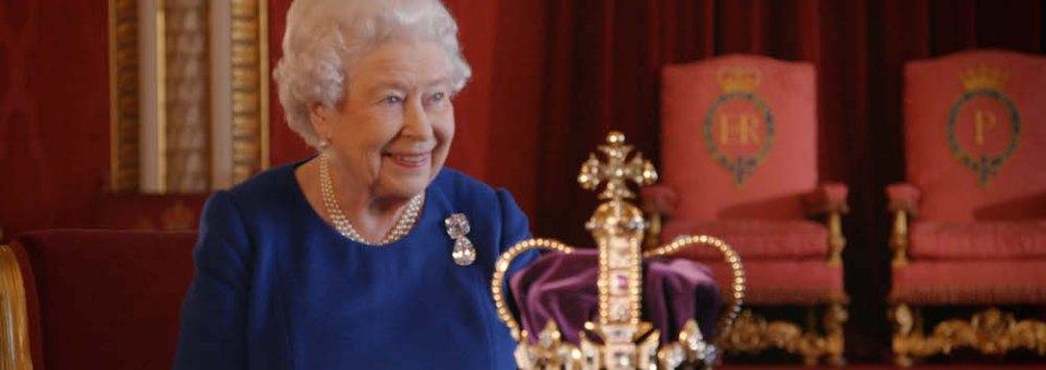 QUEEN ELIZABETH II's 65th coronation