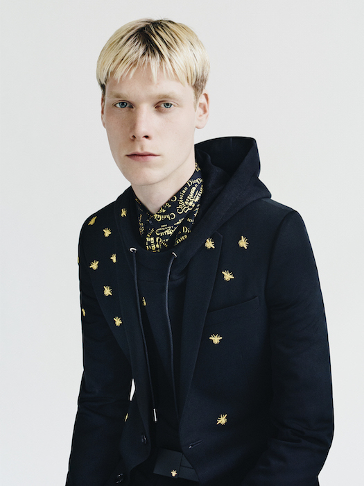 DIOR HOMME GOLD BY PAOLO ROVERSI FASHIONDAILYMAG 1