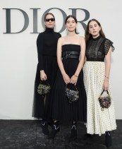 PARIS, FRANCE - SEPTEMBER 24: Haim sisters attend the Christian Dior show as part of the Paris Fashion Week Womenswear Spring/Summer 2019 on September 24, 2018 in Paris, France. (Photo by Pascal Le Segretain/Getty Images For Christian Dior) *** Local Caption *** Haim