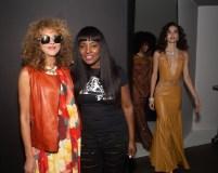 brigitte segura with FUSCHA designer Claudinette Jean (Wycleff Jean)