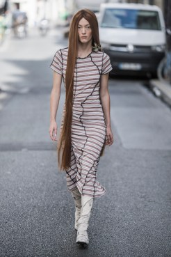 LOOK06 NEITH NYER PARIS FASHION WEEK SS19 Fashiondailymag bleumode
