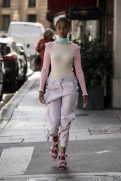 LOOK14 NEITH NYER PARIS FASHION WEEK SS19 Fashiondailymag bleumode