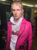 hot pink RICARDO SECO FASHIONDAILYMAG BY PAUL MOREJON