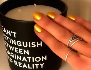 gold nails 2 for spring brigitte segura fashiondailymag