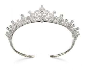 Diamond tiara, Cartier, 1930s - Magnificent Jewels and Noble Jewels Sotheby's Geneva 13 nov 2019
