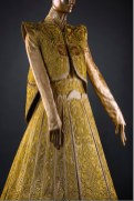 Lot 15 Guo Pei, Gold Chinese Traditional Bridal Dress, Pure gold embroidery thread, leather, European imported fabric (est. £500,000-700,000) (7) on FashionDailyMag Brigitteseguracurator at 10.00.34 AM