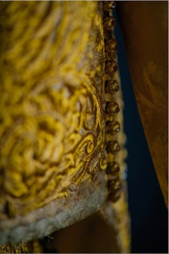 Lot 15 Guo Pei, Gold Chinese Traditional Bridal Dress, Pure gold embroidery thread, leather, European imported fabric (est. £500,000-700,000) (7) on FashionDailyMag Brigitteseguracurator at 10.00.55 AM