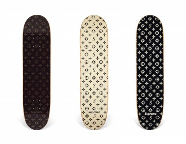 SUPREME SKATEBOARD LIMITED EDITION CHRISTIES AUCTION // FASHIONDAILYMAG brigitteseguracurator